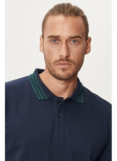 Altınyıldız Classics Slim Fit Dar Kesim %100 Koton Polo Yaka Tişört 4A4821200055 Lacivert